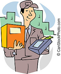 introductory package deliver goods