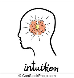 Intuition abstract concept