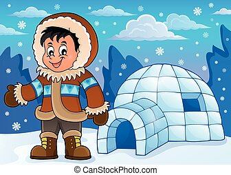 inuit illustrations and stock art 533 inuit illustration graphics rh canstockphoto com eskimo clipart images eskimo cartoon images