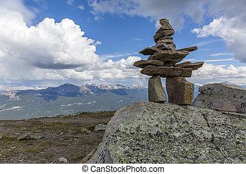 Inukshuk - Jasper National Park, Canada
