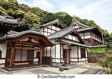Inuyama, Japan - town in Aichi prefeture of the region Chubu. Zuisenji Temple.