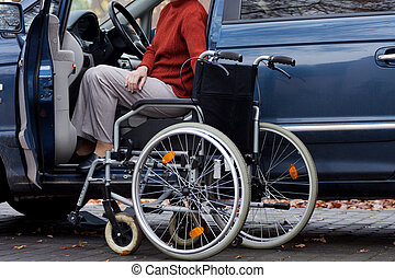 invalide, bestuurder