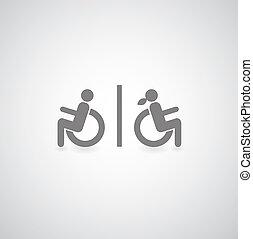 invalide, symbool