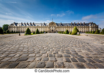 invalides, 博物館, パリ, フランス, les, 戦争, 歴史