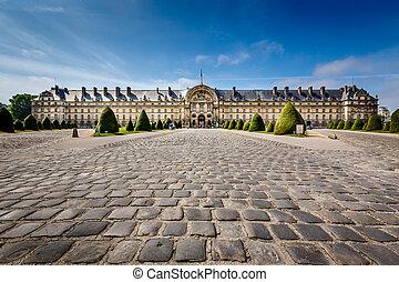 invalides, guerre, histoire, musée, dans, paris, france