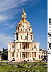 Invalides in Paris