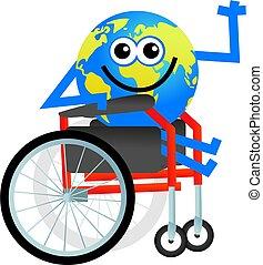 invalido, globo