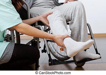 invalido, riabilitazione
