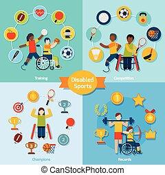 invalido, sport, set