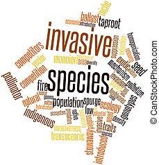 invasive, espécie
