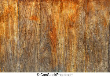 invecchiato, miele, legna weathered, fondo