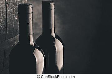 invecchiato, multa, vino
