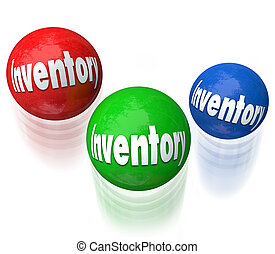 Inventory Juggling Balls Difficult Job Task Managing Output...
