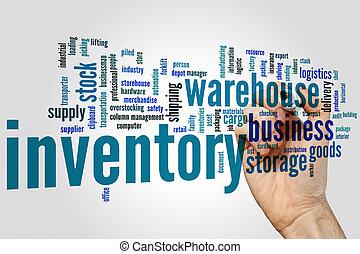 Inventory word cloud