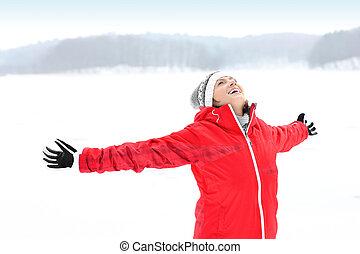 inverno, alegria