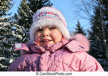 inverno, bebê