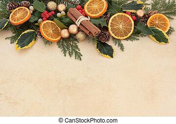 inverno, beira fruta