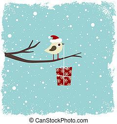 inverno, cartão