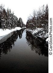inverno, flusso