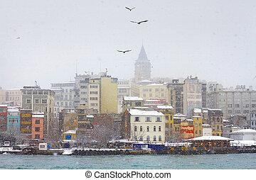 Inverno, Istambul