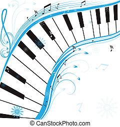 inverno, música