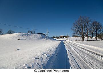 Inverno, neve, Dia