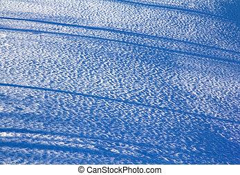 inverno, neve, fluttuare, fondo