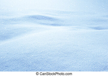 inverno, neve, fluttuare