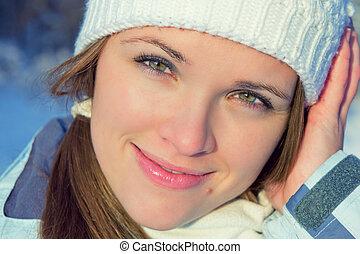 inverno, retrato
