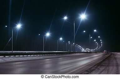 inverno, rodovia