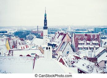 inverno, tallinn