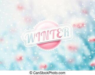 inverno, vinda