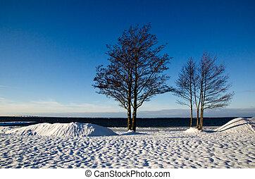 inverno, vista
