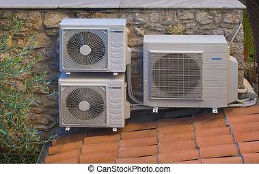 inverser, climatisation, chauffage
