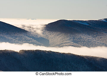 inversion in the mountains