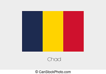 Inverted Flag of  Chad