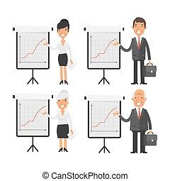 inverter, pessoas, mapa, negócio, ponto