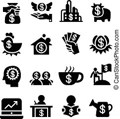 Invesment icons