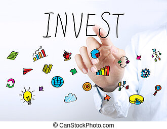 Invest Business Concept