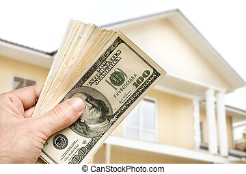Invest in house - hand with us dollars and real estate...