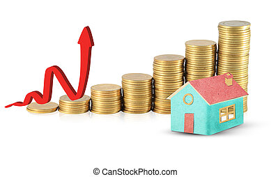 Invest in real estate concept