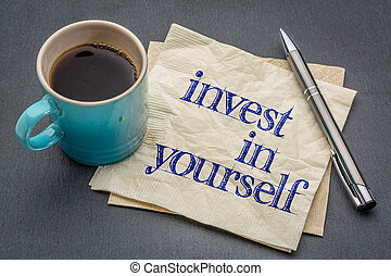 Invest in yourself advice