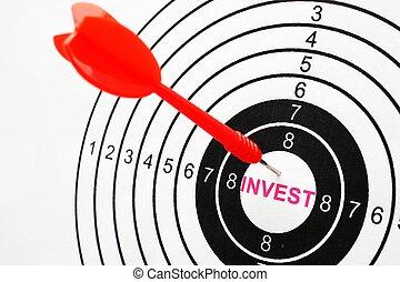 Invest target