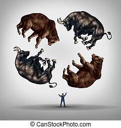 investeren, in, aandelen