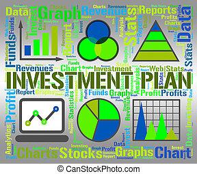 investeringen, investering, plan