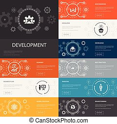 investidor, desenvolvimento, 10, linha, simples,...