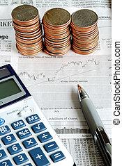 investieren, markt, bestand