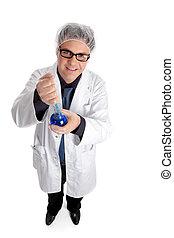 investigación, científico