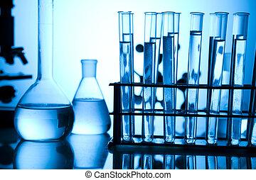 investigación, experimentos