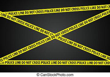 investigación, policía